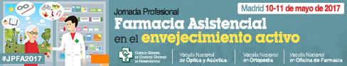 JORNADA PROFESIONAL FARMACIA ASISTENCIAL EN EL ENVEJECIMIENTO ACTIVO
