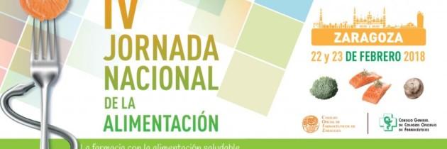 IV JORNADA NACIONAL DE ALIMENTACIÓN