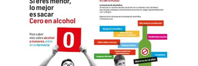Farmacéuticos en la prevención del consumo de alcohol en menores de edad