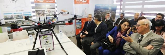 Pharmadron presenta en Teruel drones para llevar medicinas a las zonas rurales